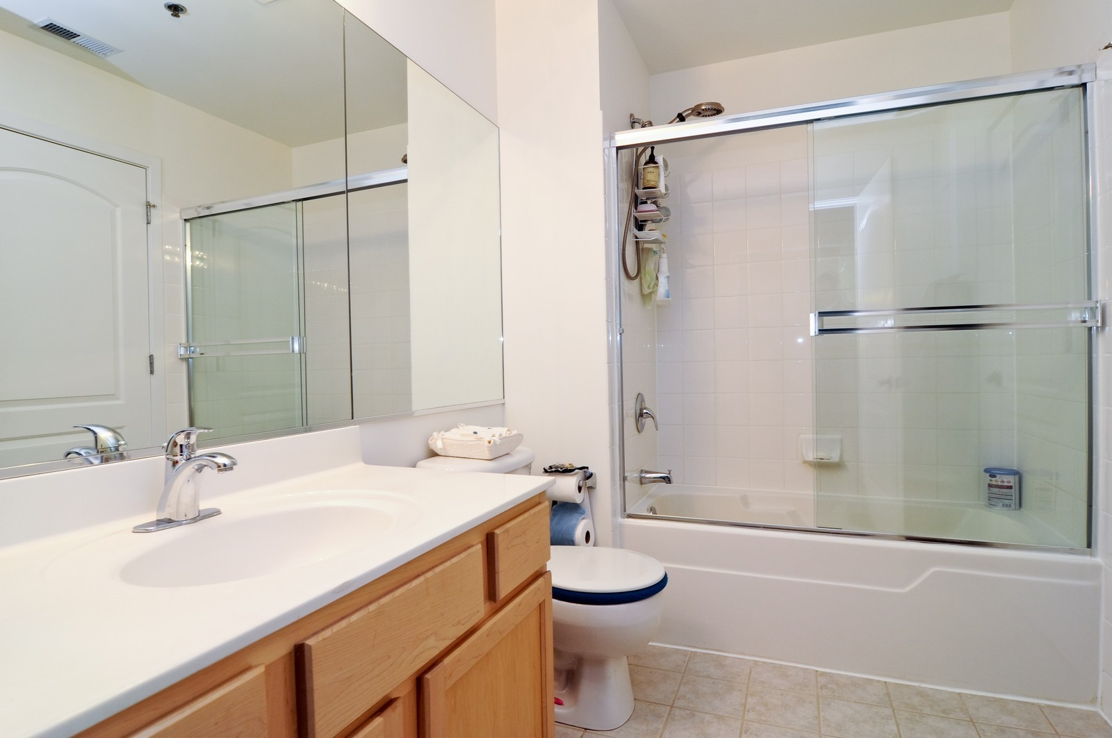Real Estate Photography - 933 W. Van Buren, 619, Chicago, IL, 60607 - Bathroom