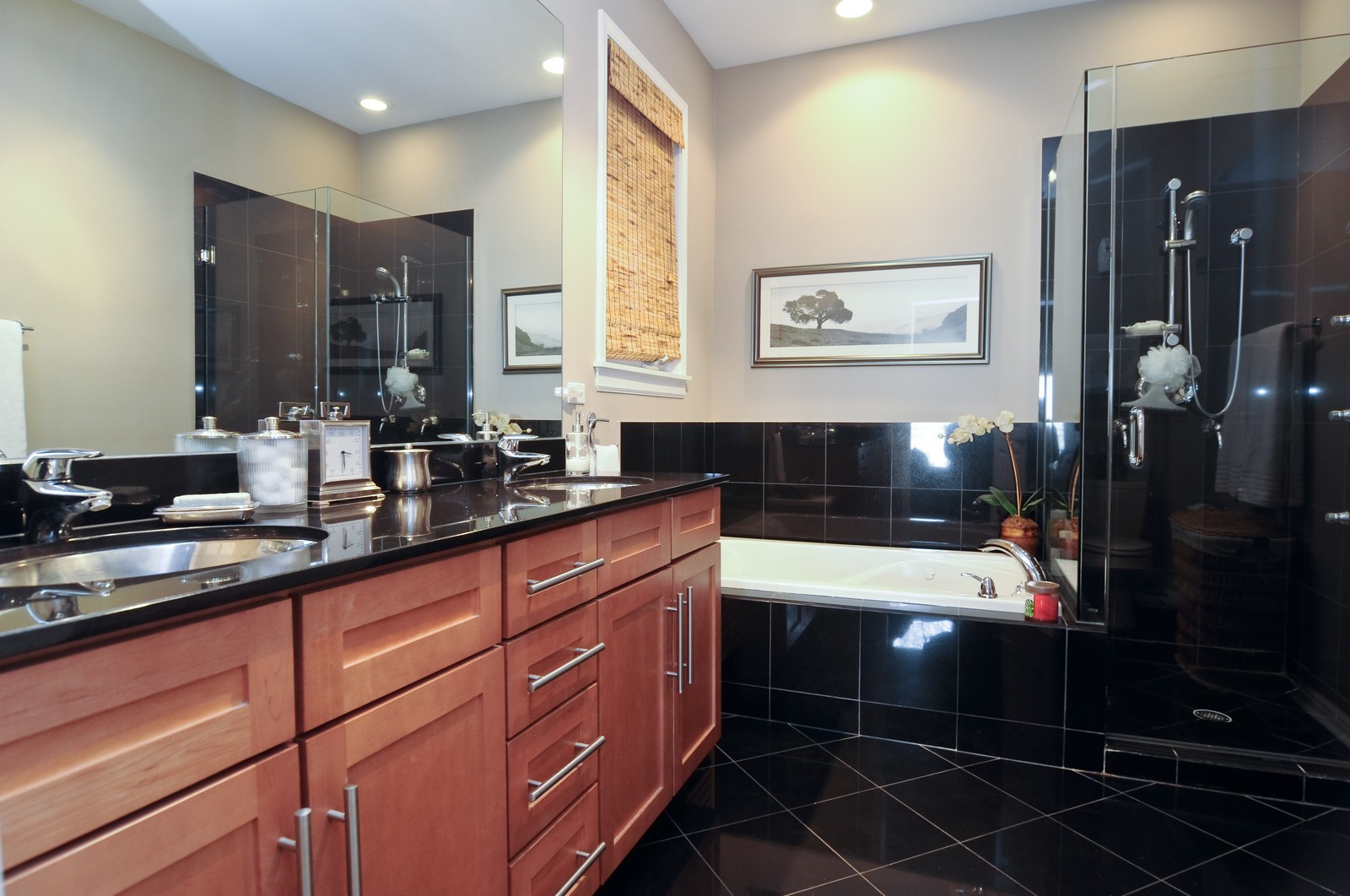 Real Estate Photography - 1414 W. Chestnut, 1, Chicago, IL, 60622 - Master Bathroom