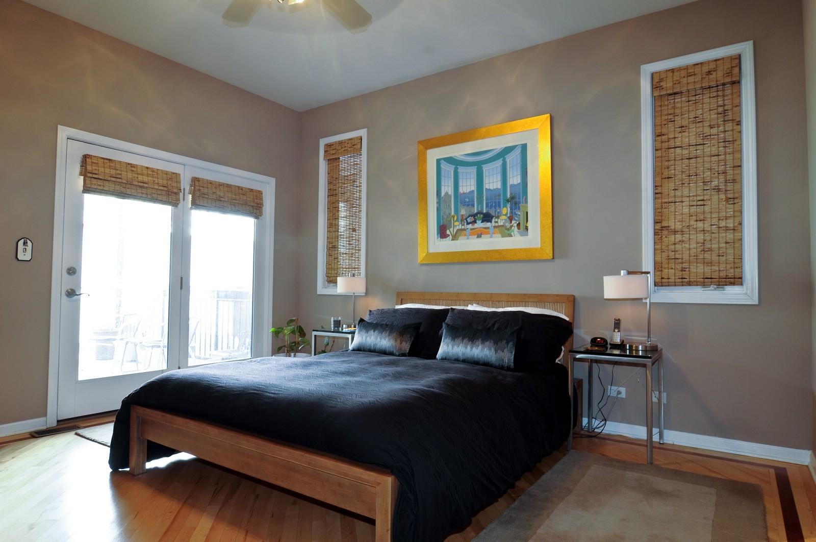 Real Estate Photography - 1414 W. Chestnut, 1, Chicago, IL, 60622 - Master Bedroom
