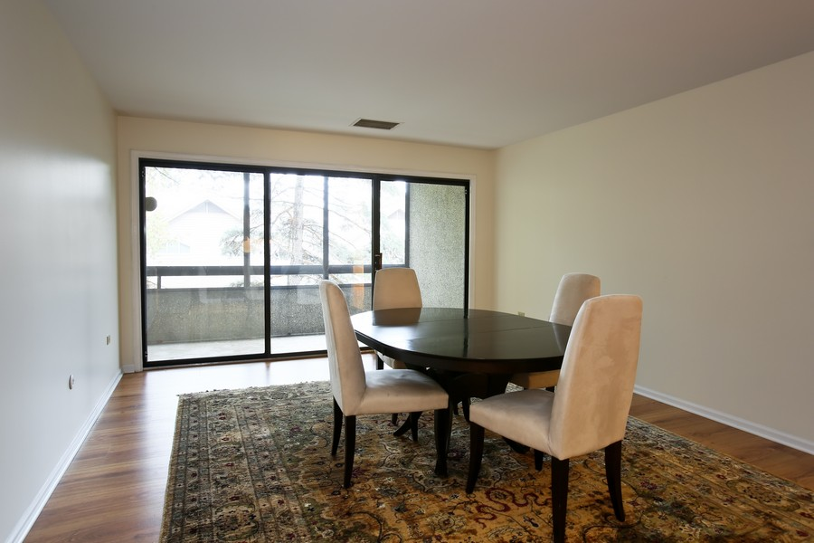 Real Estate Photography - 1401 Burr Oak Rd, Unit 202C, Hinsdale, IL, 60521 - Dining Room