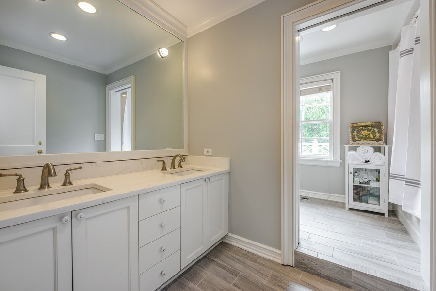 Real Estate Photography - 9420 Hamlin Ave., Evanston, IL, 60203 - 3rd Bathroom