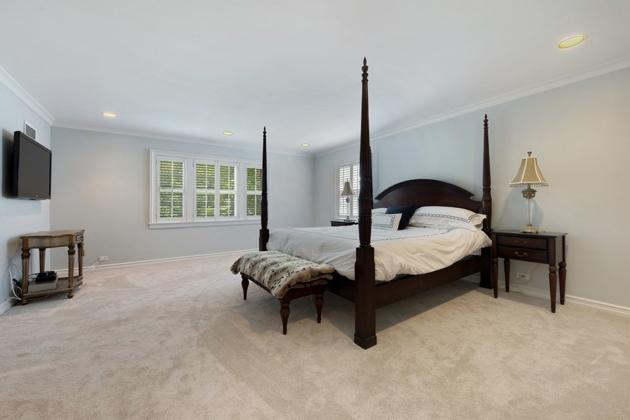 Real Estate Photography - 9420 Hamlin Ave., Evanston, IL, 60203 - Master Bedroom