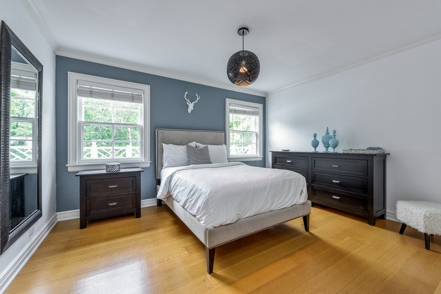 Real Estate Photography - 9420 Hamlin Ave., Evanston, IL, 60203 - 2nd Bedroom