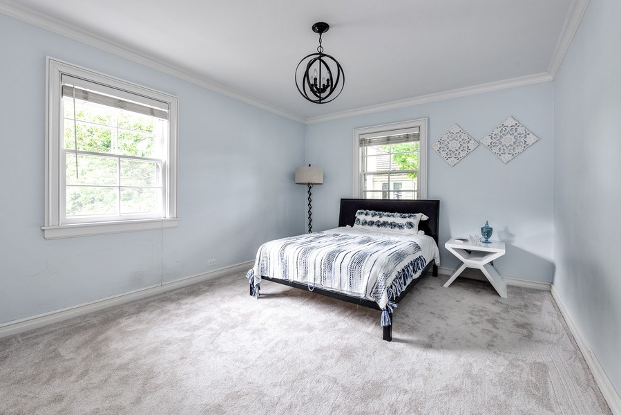 Real Estate Photography - 9420 Hamlin Ave., Evanston, IL, 60203 - 4th Bedroom