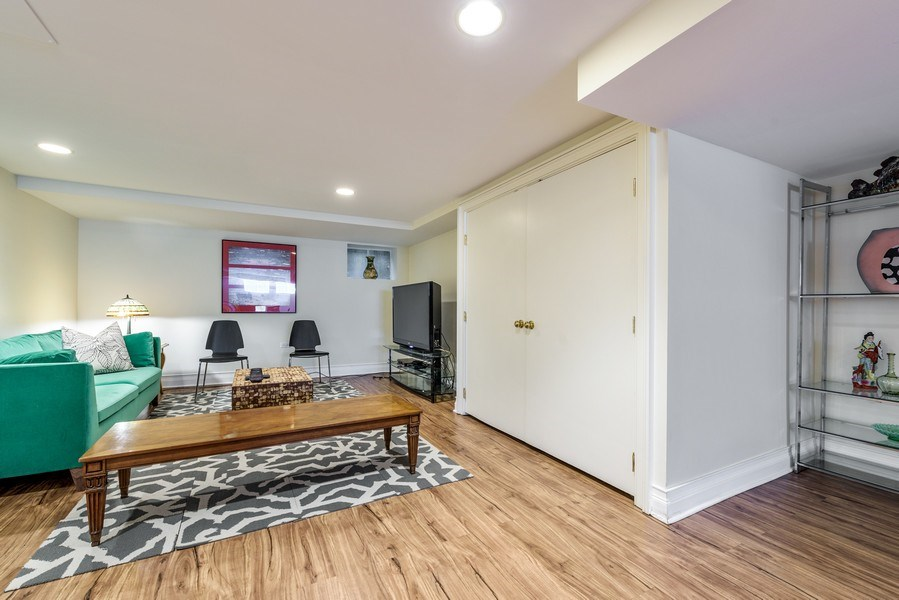 Real Estate Photography - 9420 Hamlin Ave., Evanston, IL, 60203 - Recreational Room
