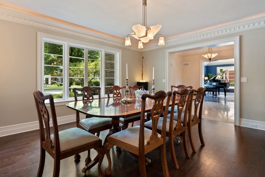 Real Estate Photography - 9420 Hamlin Ave., Evanston, IL, 60203 - Dining Room