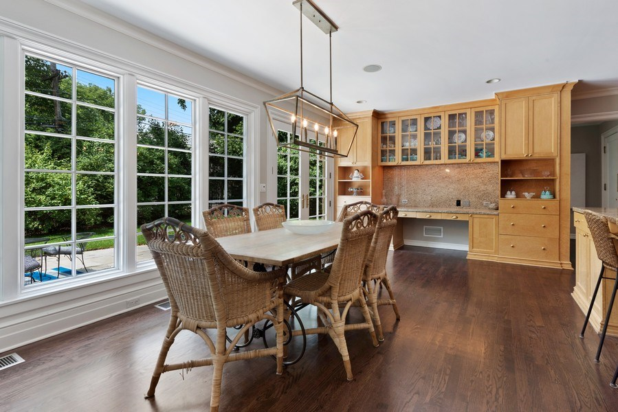 Real Estate Photography - 9420 Hamlin Ave., Evanston, IL, 60203 - Breakfast Area