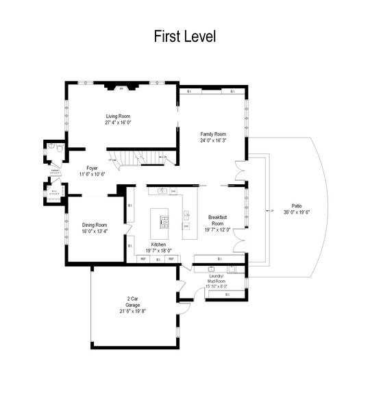 Real Estate Photography - 9420 Hamlin Ave., Evanston, IL, 60203 - Floor Plan