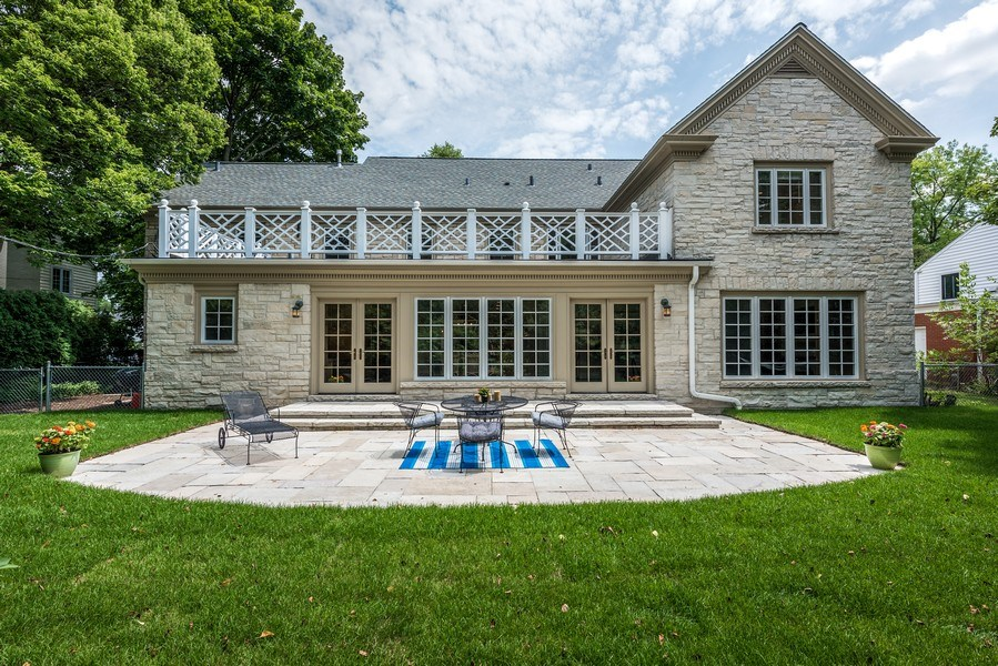 Real Estate Photography - 9420 Hamlin Ave., Evanston, IL, 60203 - Rear View