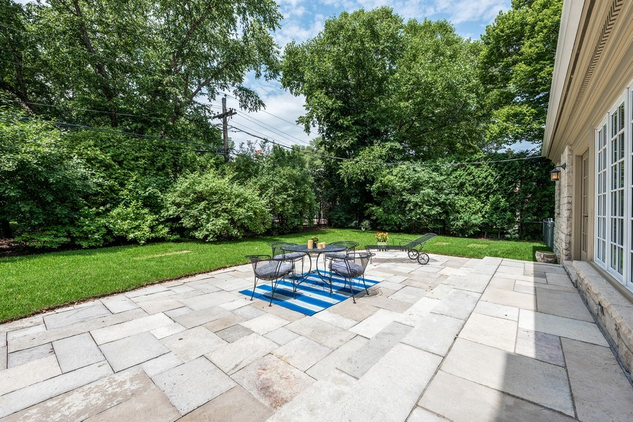 Real Estate Photography - 9420 Hamlin Ave., Evanston, IL, 60203 - Patio