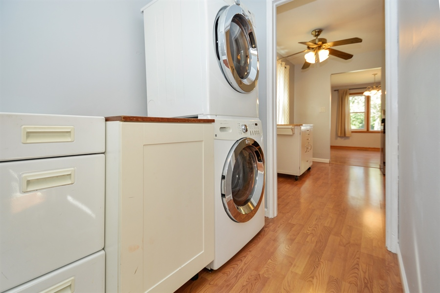 Real Estate Photography - 7727 Laramie, Burbank, IL, 60459 - Laundry Room