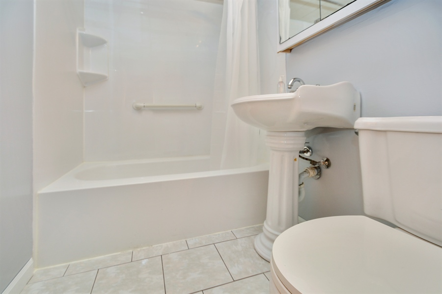 Real Estate Photography - 7727 Laramie, Burbank, IL, 60459 - Bathroom