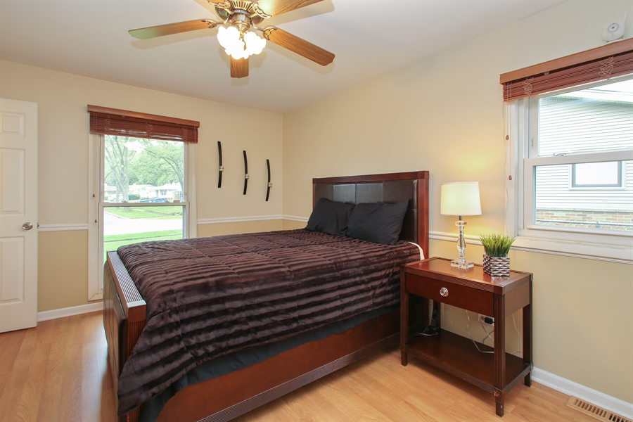 Real Estate Photography - 743 Delphia Ave, Elk Grove Village, IL, 60007 - Master Bedroom