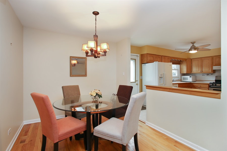 Real Estate Photography - 743 Delphia Ave, Elk Grove Village, IL, 60007 - Dining Room