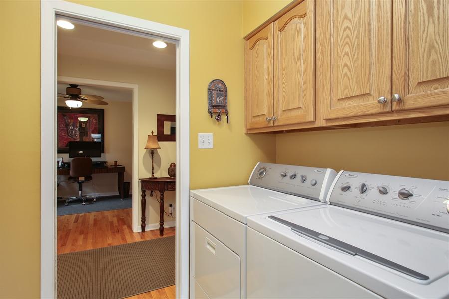 Real Estate Photography - 743 Delphia Ave, Elk Grove Village, IL, 60007 - Laundry Room