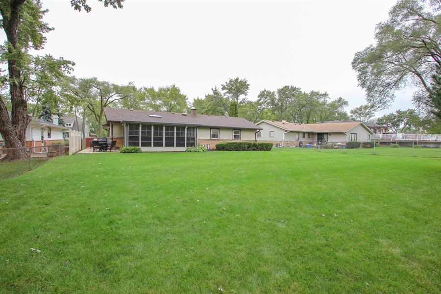 Real Estate Photography - 743 Delphia Ave, Elk Grove Village, IL, 60007 - Rear View