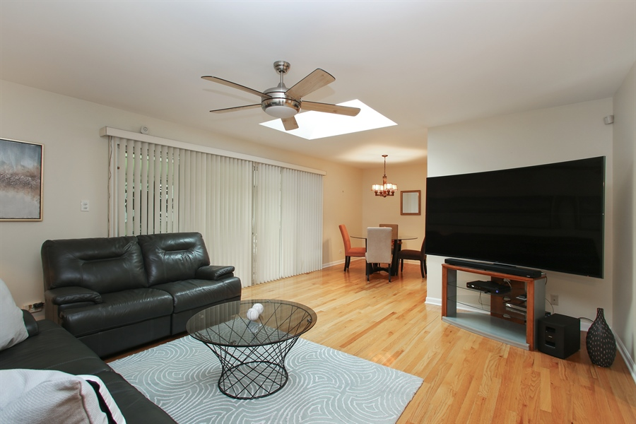 Real Estate Photography - 743 Delphia Ave, Elk Grove Village, IL, 60007 - Living Room / Dining Room