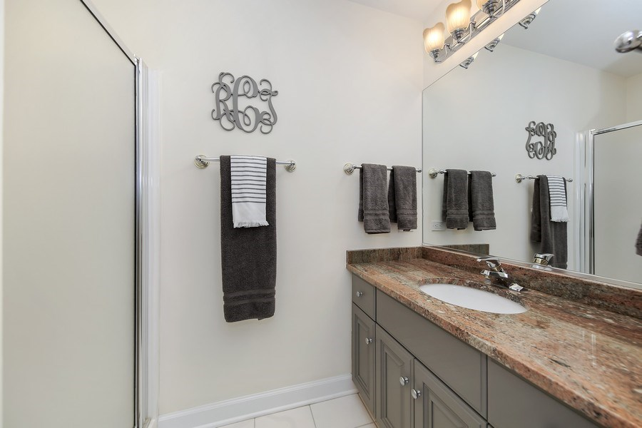 Real Estate Photography - 1529 Robinhood, LaGrange Park, IL, 60526 - 3rd Bathroom