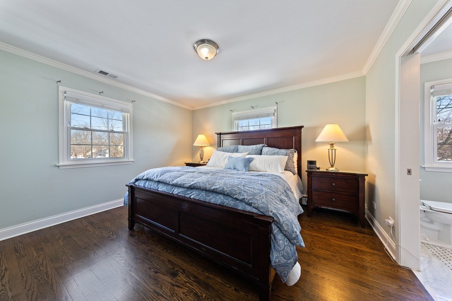 Real Estate Photography - 740 N. Stone Ave, La Grange Park, IL, 60526 - Master Bedroom