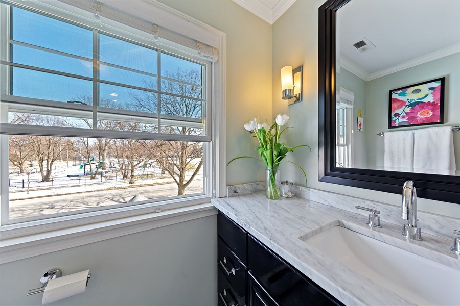 Real Estate Photography - 740 N. Stone Ave, La Grange Park, IL, 60526 - Master Bathroom