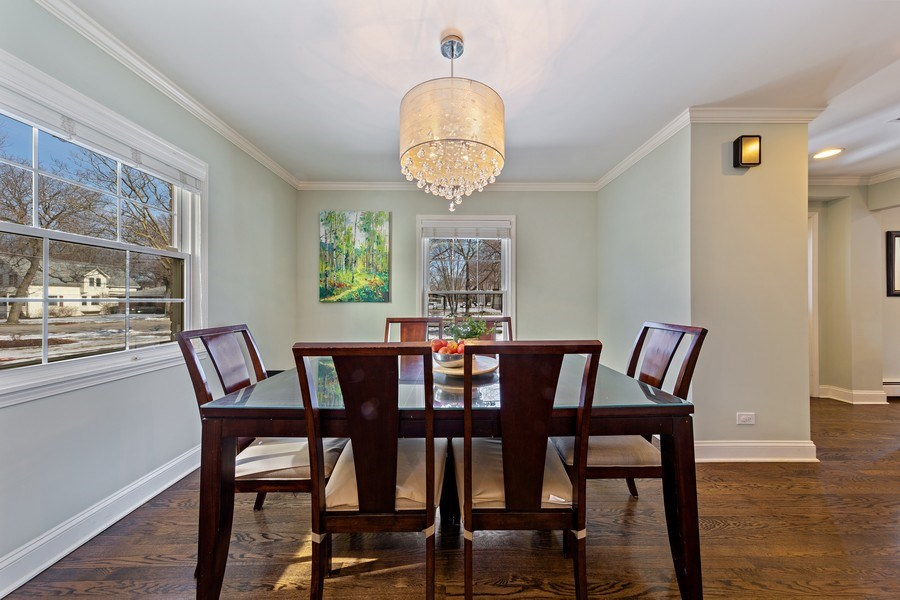 Real Estate Photography - 740 N. Stone Ave, La Grange Park, IL, 60526 - Dining Room