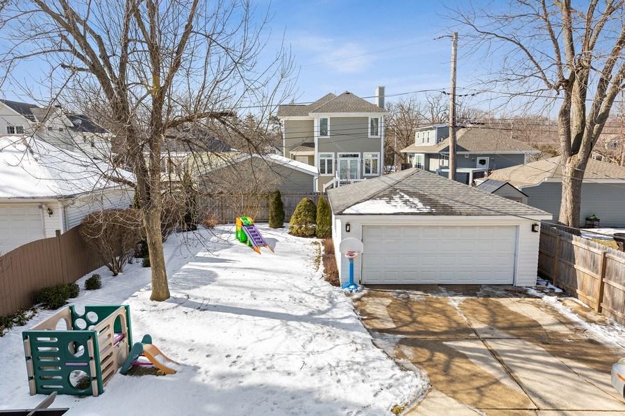 Real Estate Photography - 740 N. Stone Ave, La Grange Park, IL, 60526 - Back Yard