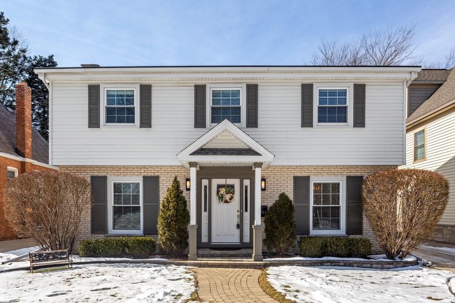 Real Estate Photography - 740 N. Stone Ave, La Grange Park, IL, 60526 - Front View
