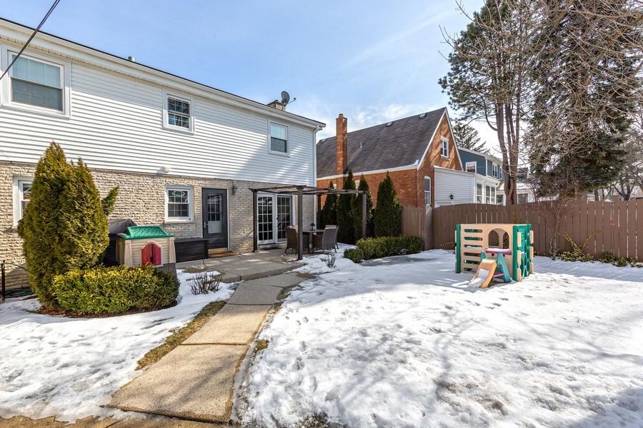 Real Estate Photography - 740 N. Stone Ave, La Grange Park, IL, 60526 - Rear View