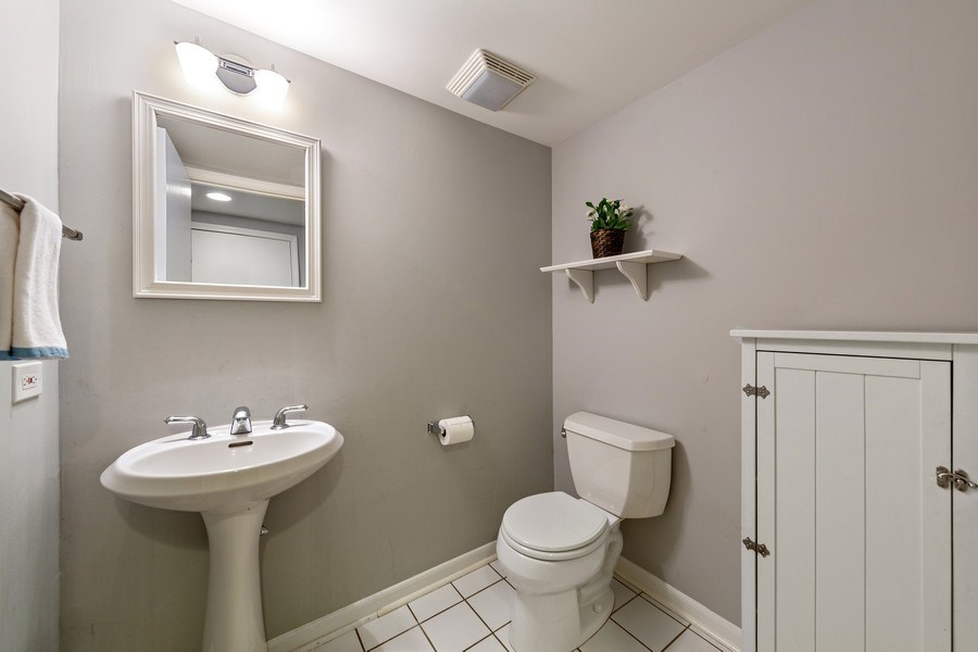 Real Estate Photography - 740 N. Stone Ave, La Grange Park, IL, 60526 - Half Bath
