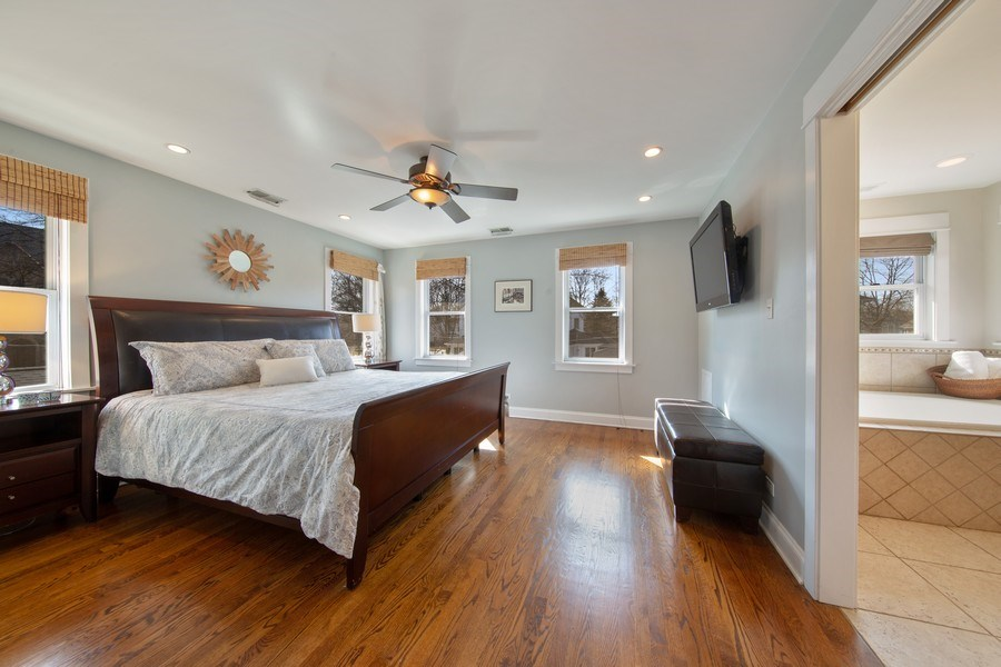 Real Estate Photography - 136 S Catherine Ave, La Grange, IL, 60525 - Master Bedroom