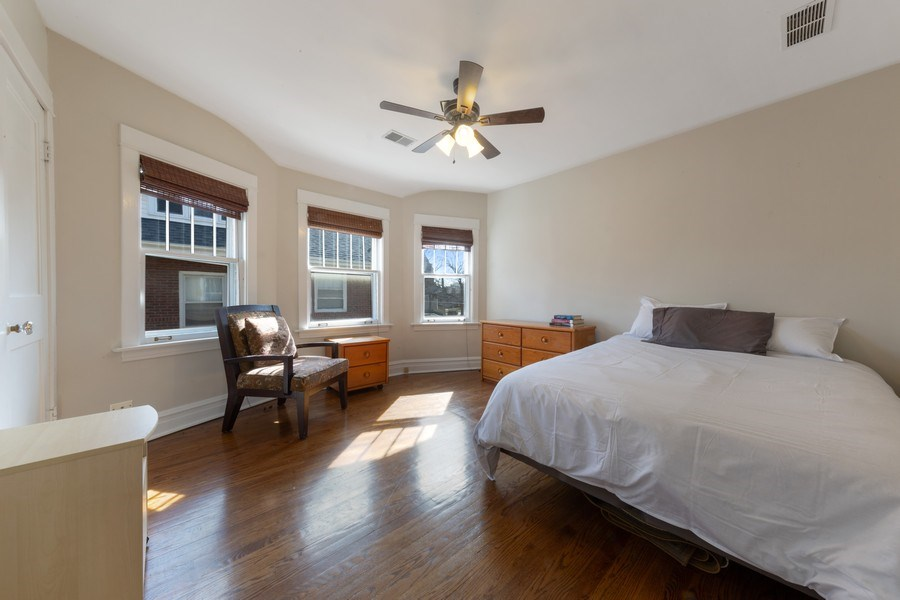 Real Estate Photography - 136 S Catherine Ave, La Grange, IL, 60525 - 2nd Bedroom