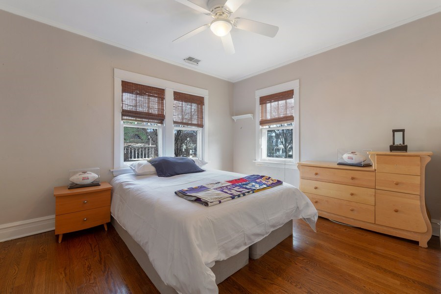 Real Estate Photography - 136 S Catherine Ave, La Grange, IL, 60525 - Bedroom