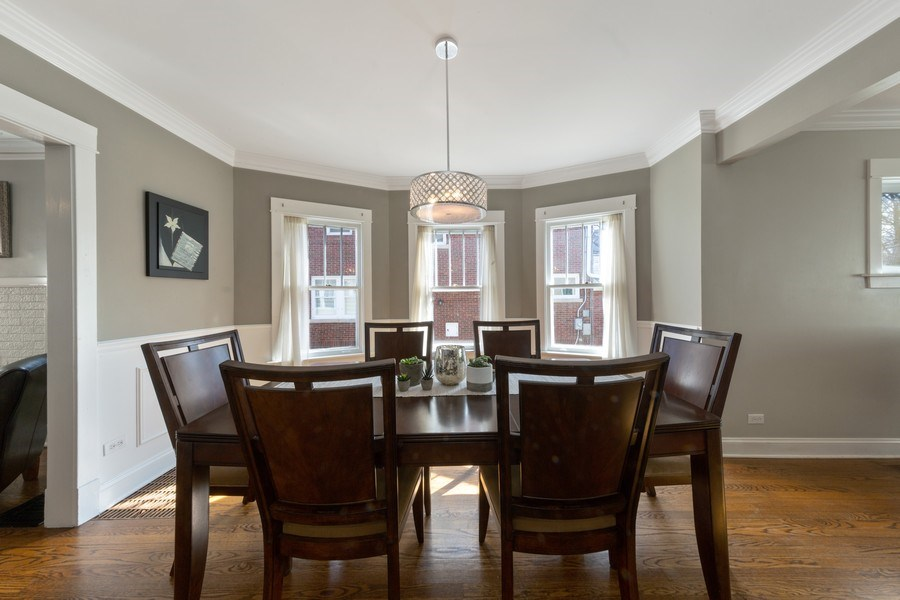 Real Estate Photography - 136 S Catherine Ave, La Grange, IL, 60525 - Dining Room