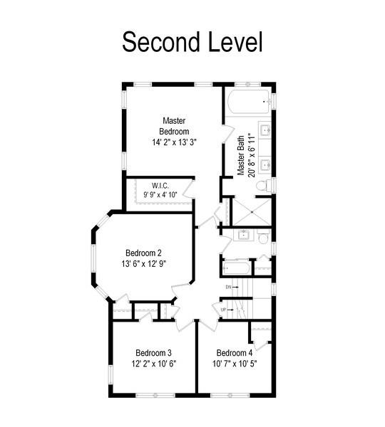 Real Estate Photography - 136 S Catherine Ave, La Grange, IL, 60525 - Floor Plan