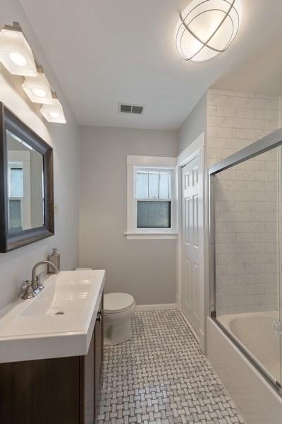 Real Estate Photography - 136 S Catherine Ave, La Grange, IL, 60525 - Bathroom