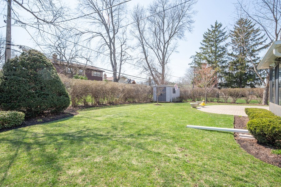 Real Estate Photography - 403 E. Ivy Lane, Arlington Heights, IL, 60004 - Back Yard