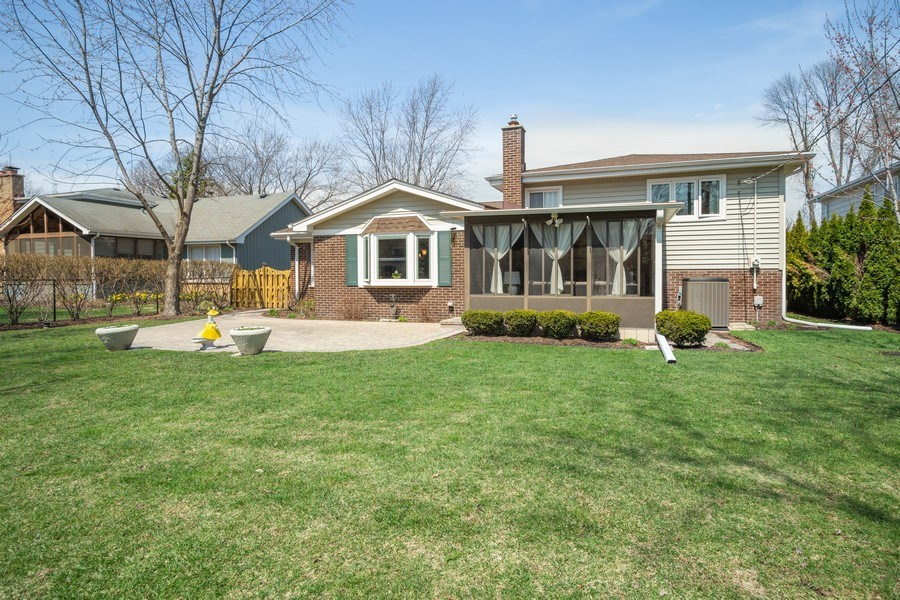 Real Estate Photography - 403 E. Ivy Lane, Arlington Heights, IL, 60004 - Rear View