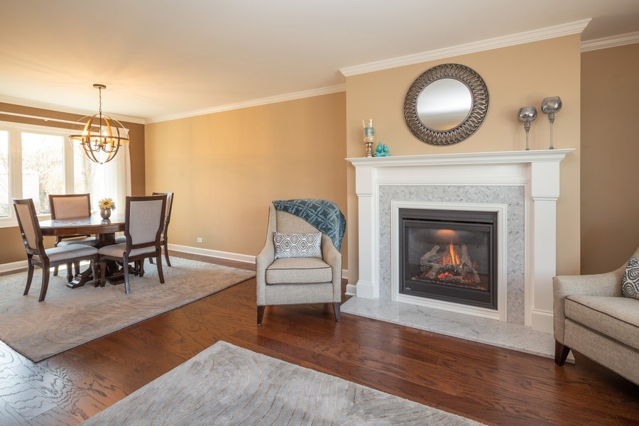 Real Estate Photography - 403 E. Ivy Lane, Arlington Heights, IL, 60004 - Living Room/Dining Room