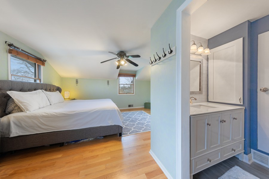 Real Estate Photography - 2316 Bluebird Lane, Rolling Meadows, IL, 60008 - Master Bedroom
