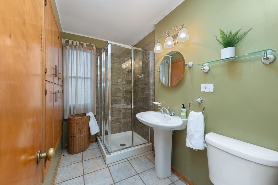 Real Estate Photography - 2316 Bluebird Lane, Rolling Meadows, IL, 60008 - Bathroom