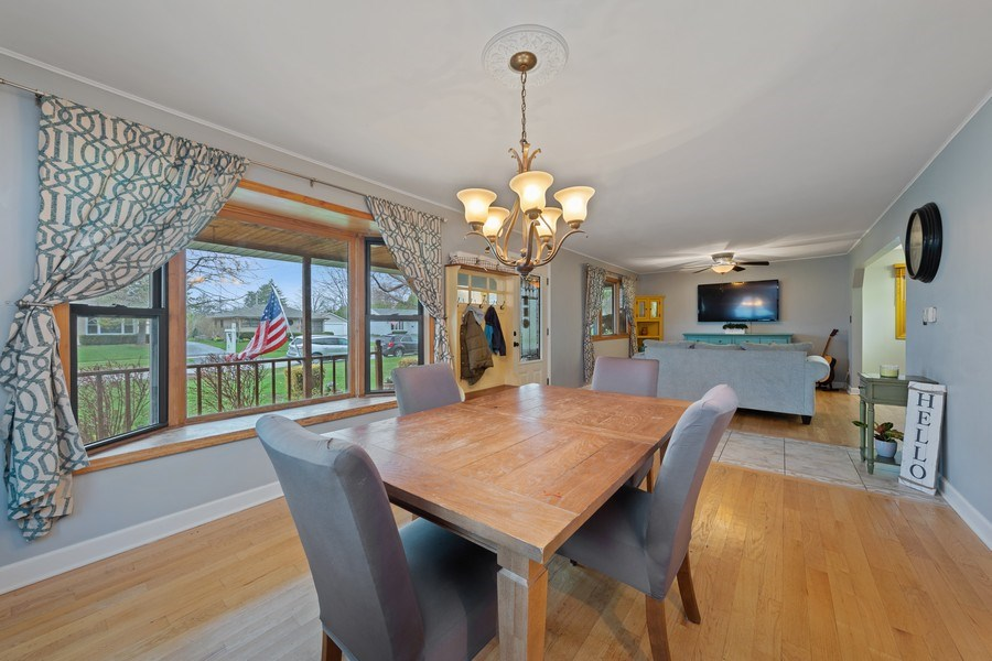 Real Estate Photography - 2316 Bluebird Lane, Rolling Meadows, IL, 60008 - Living Room / Dining Room