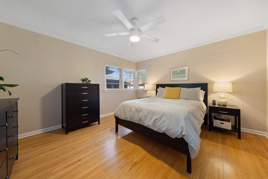 Real Estate Photography - 1144 Community Dr, La Grange Park, IL, 60526 - Master Bedroom