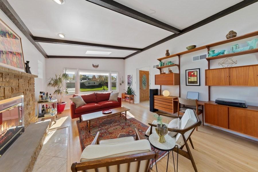 Real Estate Photography - 1144 Community Dr, La Grange Park, IL, 60526 - Living Room