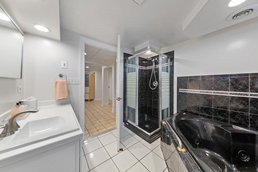 Real Estate Photography - 1144 Community Dr, La Grange Park, IL, 60526 - 2nd Bathroom