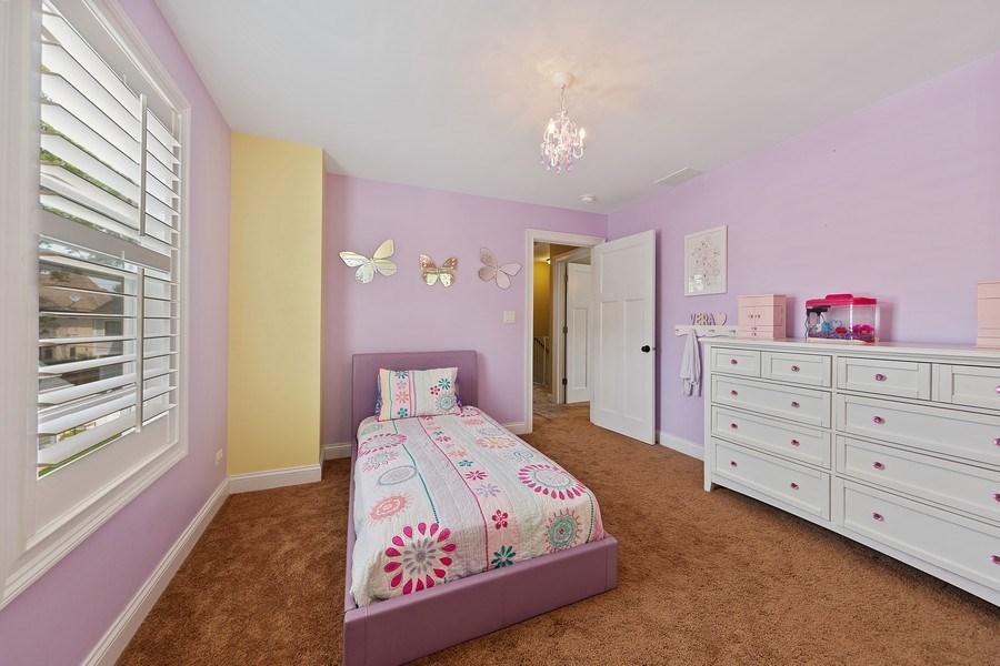 Real Estate Photography - 605 N Kensington Ave, La Grange Park, IL, 60526 - 2nd Bedroom
