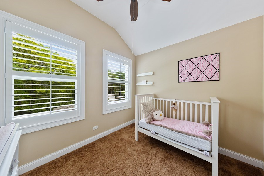 Real Estate Photography - 605 N Kensington Ave, La Grange Park, IL, 60526 - 4th Bedroom