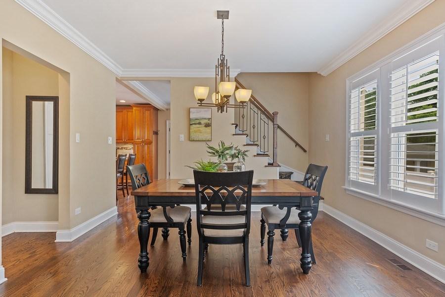 Real Estate Photography - 605 N Kensington Ave, La Grange Park, IL, 60526 - Dining Room