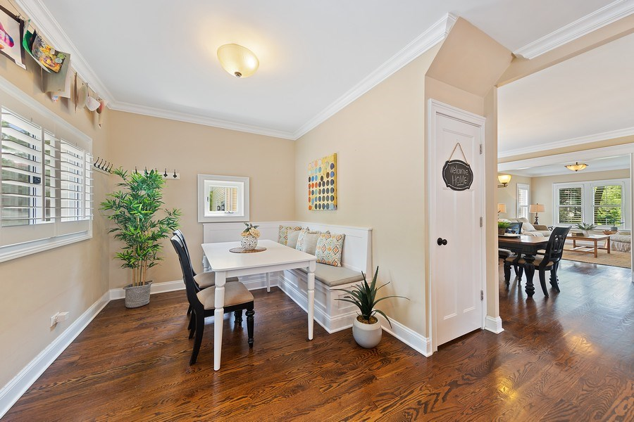 Real Estate Photography - 605 N Kensington Ave, La Grange Park, IL, 60526 - Breakfast Area
