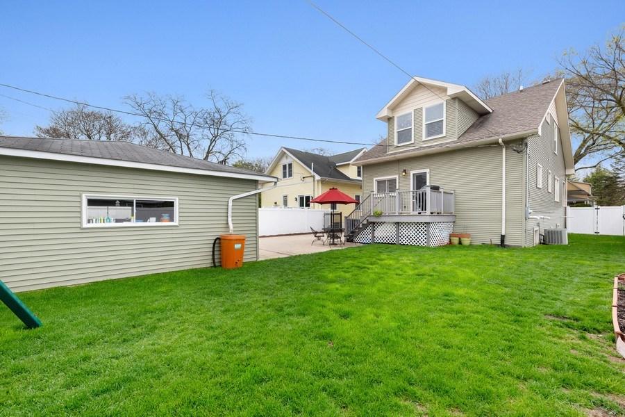 Real Estate Photography - 605 N Kensington Ave, La Grange Park, IL, 60526 - Rear View