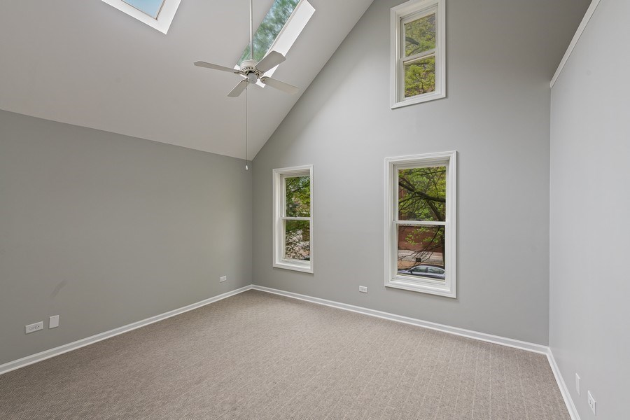 Real Estate Photography - 1652 N. Cleveland Ave., Chicago, IL, 60614 - Master Bedroom